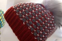 Mütze mit Kalmuck-Muster