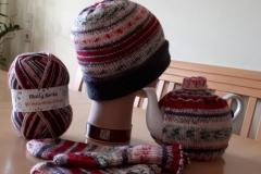 Ferner Weihnachtssockenwolle